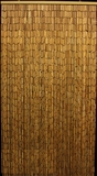 "Plain Bamboo Beaded Curtain 90 Strands 35""  x 75-78"""