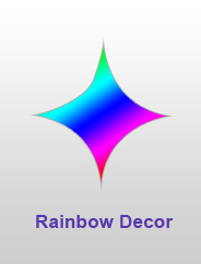 Rainbow Decor
