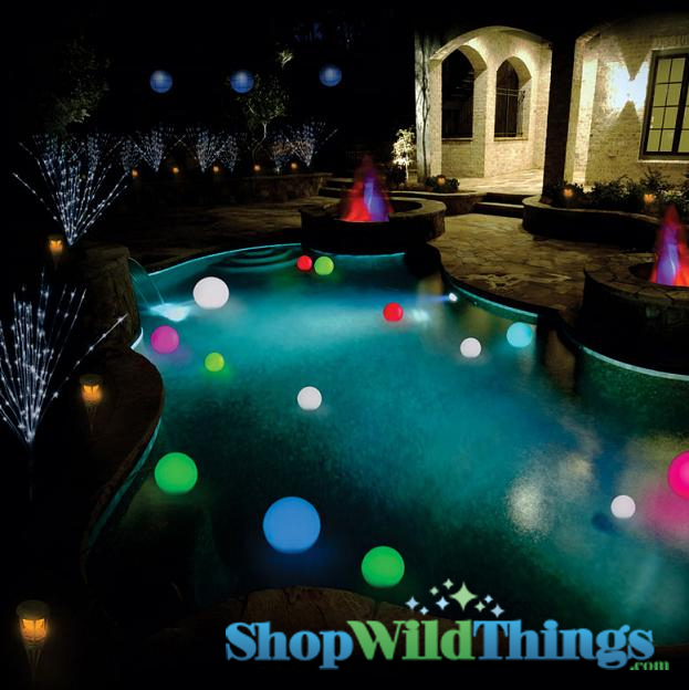 Rainbow Orb Small Floating Color Changing Ball Led 3 5