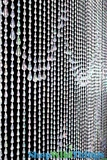 Raindrops Beaded Curtain - Crystal Iridescent - 3 ft x 6 ft