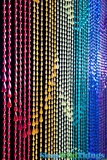Raindrops Beaded Curtain - Rainbow Iridescent - 3 ft x 6 ft