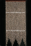 Real Shell 60 Strands Beaded Curtain