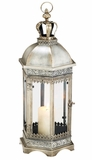 """Regalia"" Octagon Pillar Candle Lantern 25"" Tall!"