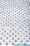 "Rhinestone - Look Diamond Adhesive Mat 10"" x 20"" with Pyramids - Trimmable"