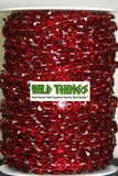 Roll of Beads 50 Yards (150') - Red Diamonds
