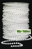 Roll of Beads 50 Yards (150 ft) - White 6mm Pearls