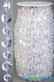 Rolls of Beads 50 Yards (150 ft)- Diamante Duo Crystal Non-Iridescent