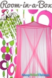 "Room in a Box - ""Megan"" Fuschia - 3pcs"