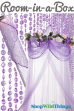 "Room in a Box - ""Sleeping Beauty"" Purple - 3pcs"