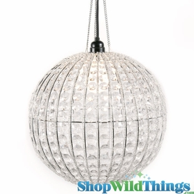 "Round Beaded Chandeliers - Up to 20"" Diameter!"