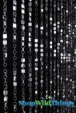 Shimmy Beaded Curtain - Silver - 3' x 6'
