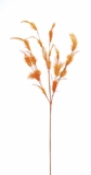 Feather Spray w/Multiple Stems - Orange - 30""
