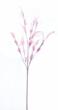 Feather Spray w/Multiple Stems - Pink - 30""