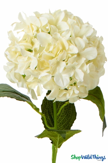 33 Quot Ivory Hydrangea Bloom Silk Flowers For Centerpieces