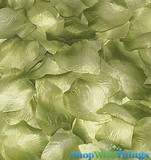 Silk Rose Petals - Sage Green Two Toned- Bag of 400 pcs