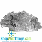 "Silver Coral Tabletop Decor (15""  x 7.5""  )"
