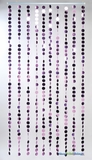 Spangles Beaded Curtain - Pink  3' x 6'