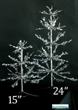 "Sparkle Ice Tree - 15"" Tall"