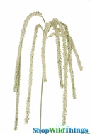 "Spray - Amaranthus 64"" Long Dangling - Cream"