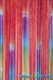 """Clearance - String Curtain """"Gypsy Queen"""" Pattern 3 ft x 7.3 ft - Rayon"""