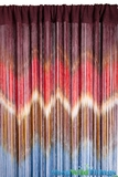 "String Curtain ""IKAT"" Pattern 3 ft x 7.3 ft - Rayon"