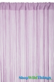 "String Curtain Lavender  - 18 Strings Per Inch! - 36"" x 90"""