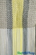 "Clearance - String Curtain Lime and Gray 36"" x 88"" - Rayon"