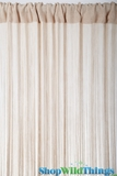 String Curtain Natural 3' x 7.3' - Rayon