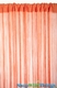 INVENTORY REDUCTION SALE String Curtain Orange 3 ft x 7.3 ft - Fire Treated Rayon