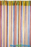 String Curtain Rainbow 3' x 7.3' - Rayon