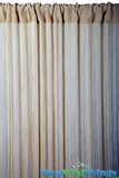 String Curtain Antique Gold 3 ft x 7.3 ft - Fire Treated Rayon