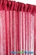 "String Curtain Shiny Red w/ Gold Lurex! - 18 Strings Per Inch - 36"" x 88"""