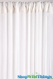 String Curtain White 3' x 7.3' - Rayon