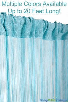 String Curtains 18 strings Per Inch Highest Quality - 60+ Choices