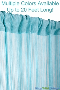 String Curtains 18 strings Per Inch - 64 Colors & Sizes Available!