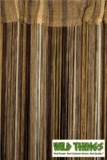 String Curtains Gold and Browns - 18 Strings Per Inch!