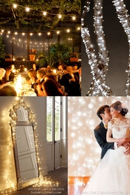 LED Curtains, Fairy Lights, Bistro Lights
