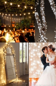 Light Curtains, Fairy Lights, Bistro Lights