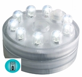 Sumix 9 - White Submersible LED with 9 Lights - Remote Control Compatible
