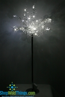 CLEARANCE  The Princess LED Lighted  3 Foot Tall Tree, Battery Operated Bouquet on Stand