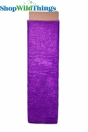 "Tulle Bolt w/Glitter, Purple, 54""x10 yds"
