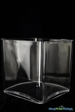 Vase - Acrylic Square - 5in x 5in x 5in - Lightweight