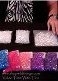 VIDEO: How to Use Diamond Confetti - How Much Diamond Confetti Comes in a Bag