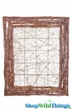 "Vine Wire Frame ""Giverny"" 38"" x 32""- Hang Flowers & Strands Over Tables"