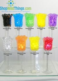 Water Pearls - Jelly Decor - Water Crystal Beads - <B>Large Beads</B> Makes 1.5 Gallons (10 Colors Available)