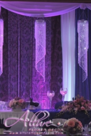 Wedding Backdrops: Beaded Curtains, Light Curtains