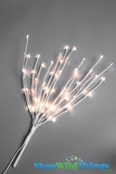 "Willow Branch 20"" w/ 60 LED Lights - Electric Plug  - White"