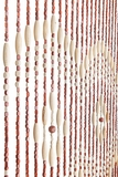 "Wooden Bead Curtain - Augusta - 35.5"" x 71"" - 31 Strands"