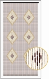 "Wooden Bead Curtain - Beijing - 35.5"" x 78"" - 52 Strands"