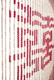 "Wooden Bead Curtain - Harmony -  35.5"" x 69"" - 27 Strands"